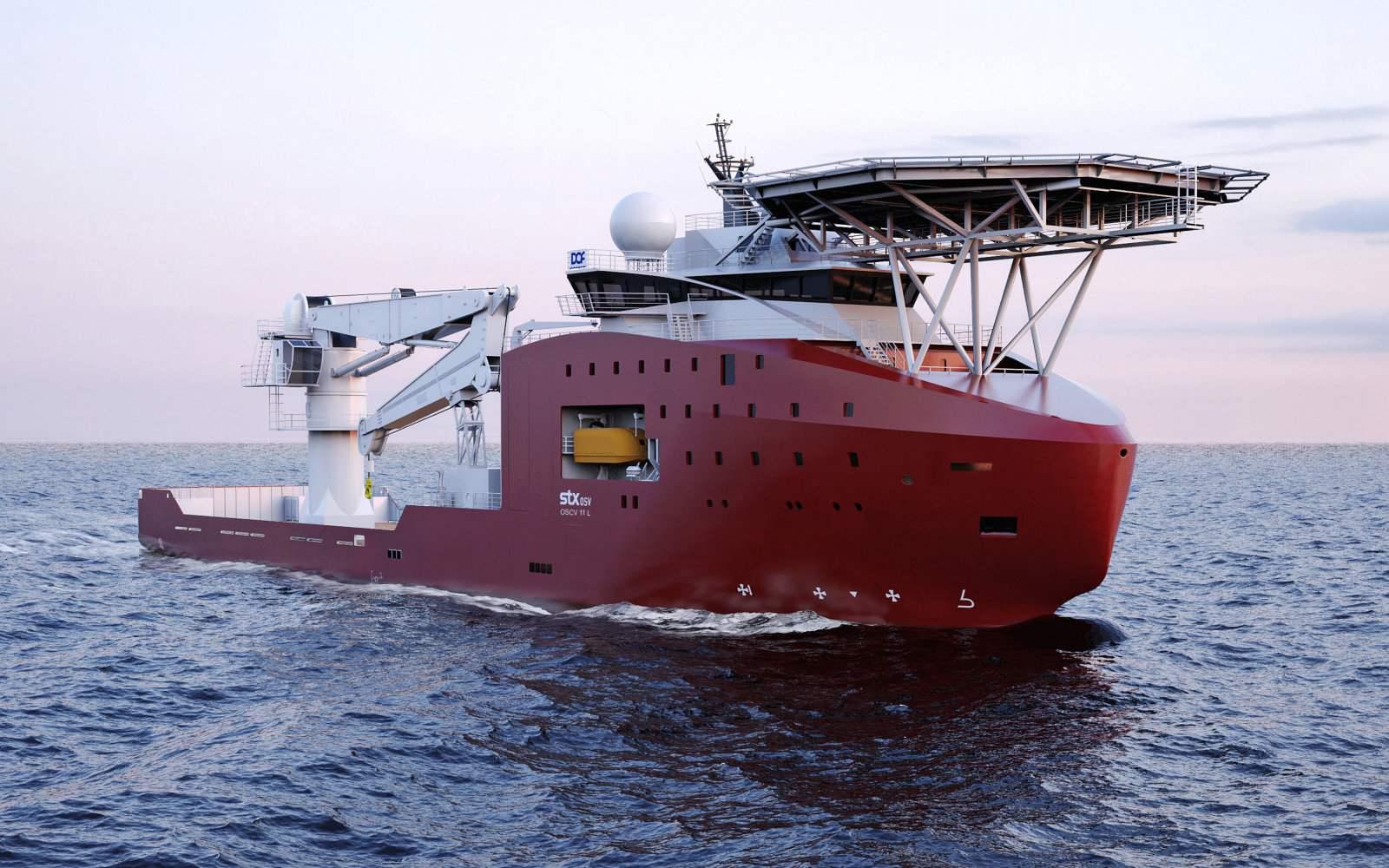 Offshore Support Vessels Satmarin Exoflux